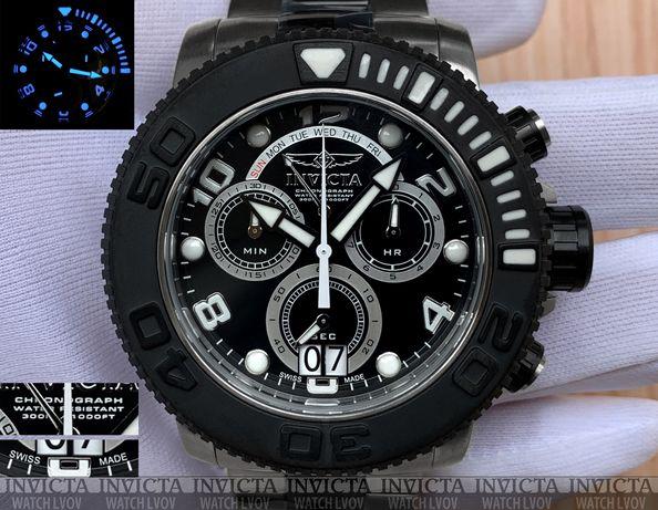 Мужские швейцарские часы Invicta 11161 Reserve Sea Hunter Swiss Made