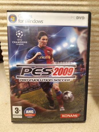 GRA na Komputer - Piłka Nożna Pes2009 stan bardzo dobry, do PC