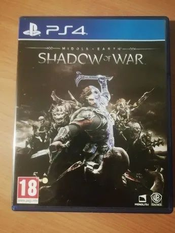 Middle Earth Shadow of War Steelbook Edition PS4