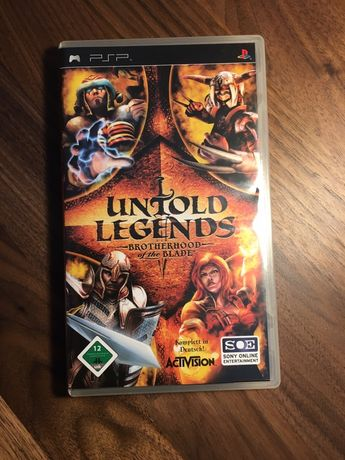 PSP - Untold Legends