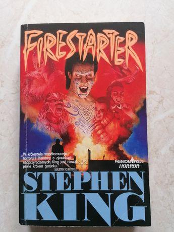 SUPER STAN! FIRESTARTER (Podpalaczka) Stephen King
