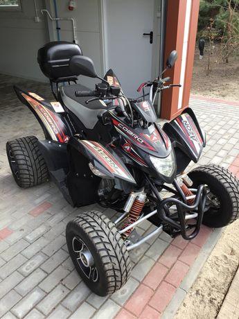 Aeon Cobra 400 Supermoto 2016 zarejestrowany