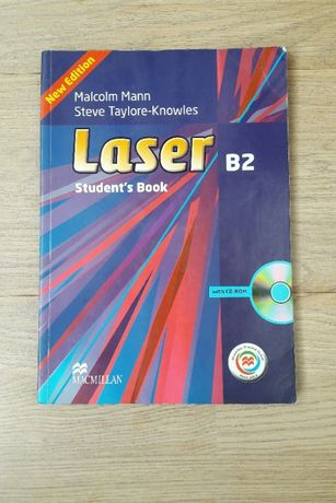 Laser B2 Student's book Учебник английского языка Macmillan