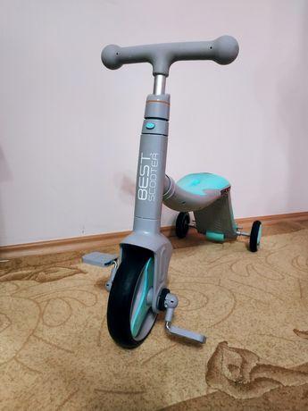 Самокат(велосипед)3 в 1