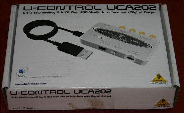 karta dla muzyka UCA202 USB