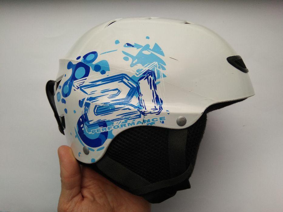 Детский зимний шлем горнолыжный, сноубордический, размер S (49-51см). Харьков - изображение 1