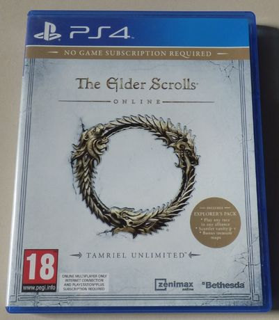 Jogo PS4 - The Elder Scrolls Online Tamriel Unlimited