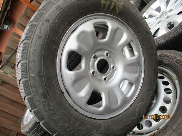 koło zapasowe Dacia Duster 5x114,3 215/65/16