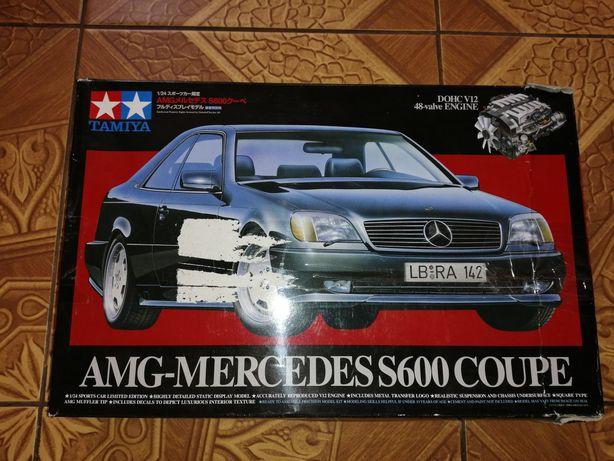 Сборная модель Mercedes S600 Coupe AMG Tamiya 1/24
