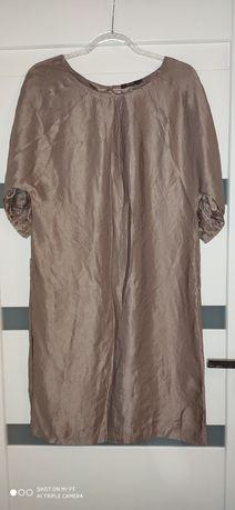 Sukienka jedwabna r.36 38