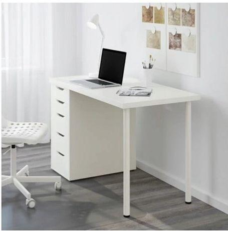 Biurko IKEA 150 cm LIinnmox / Alex Komplet w stanie BDB Okazja