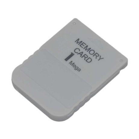 Карта памяти memory Card 1MB для приставки PS1 PlayStation НОВАЯ