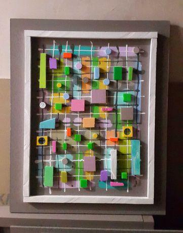 Обьёмные картины , Интерьерный декор стен 3D ART
