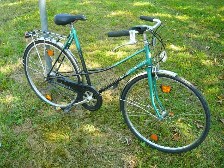 Klasyczny rower miejski 5 biegów Koła 28cali Dwururka Kraków - image 1