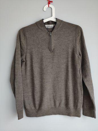 Sweter Mango z wełny merino