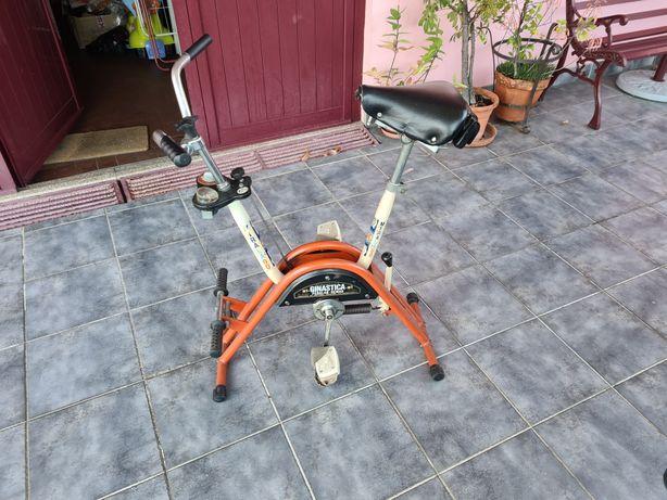 Bicicleta estática e remo Miralago