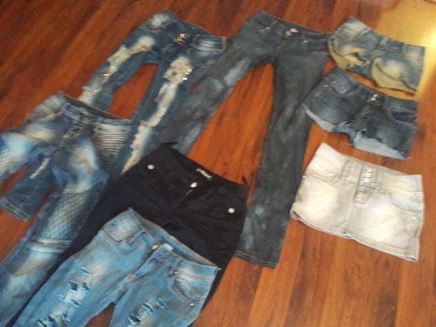 Spodnie spodenki spodniczka