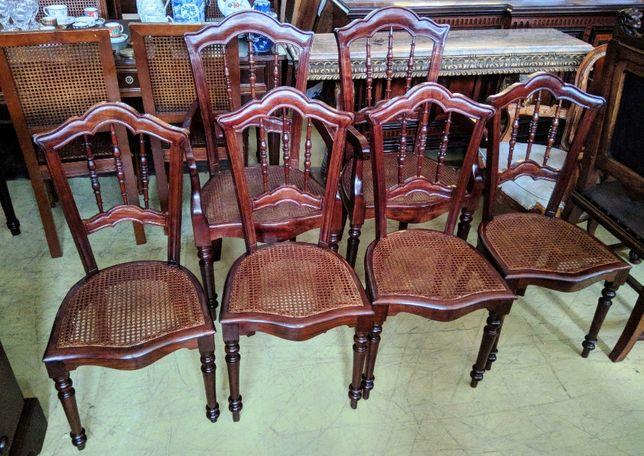 2 cadeirões 4 Cadeiras Palhinha