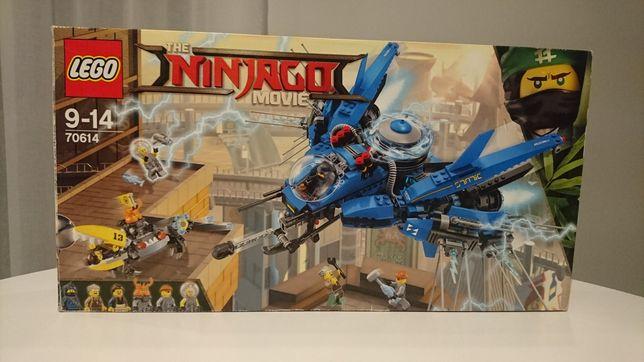 Lego Ninjago Movie 70614 odrzutowiec Błyskawica