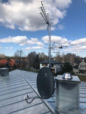 Anteny TV-SAT Montaż Serwis Domofony Automatyka Bram Monitoring HD