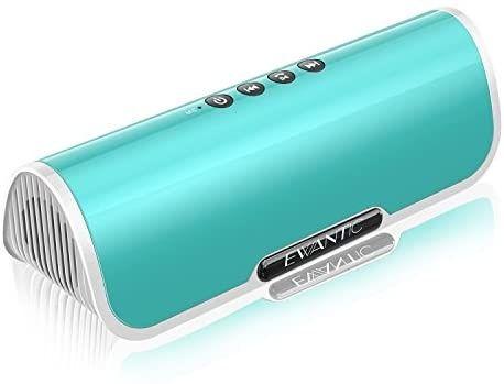 Nova! Alta-voz sem fio Bluetooth 4.2, Estéreo com áudio HD