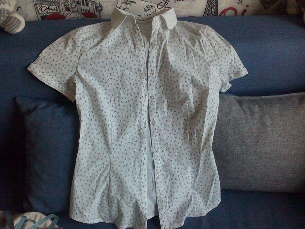 Блуза школьная на девочку 11-12 лет
