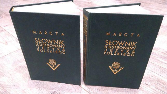Słownik ilustrowany języka polskiego M. Arcta 1996 dwa tomy