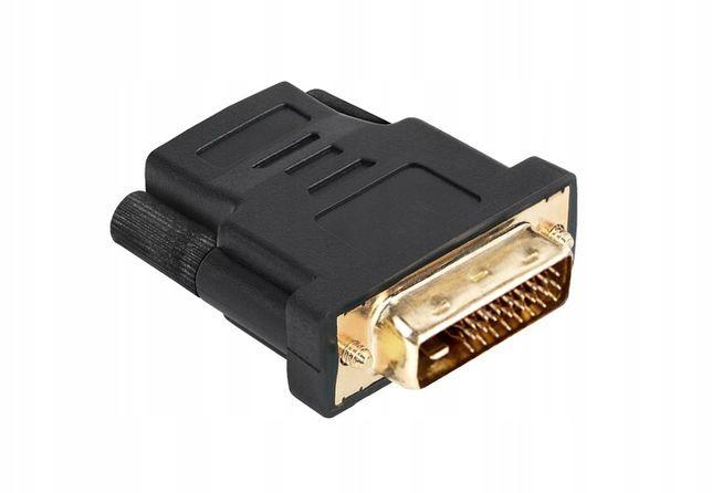 przejście Złącze HDMI gniazdo-DVI wtyk 24+1