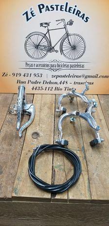 Conjunto de Travão Lusito M80 e M81 para bicicletas clássicas/Ciclismo