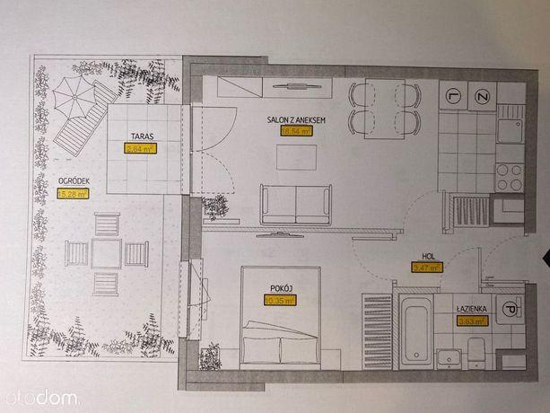 Nowy Grabiszyn etap I - mieszkanie z ogródkiem