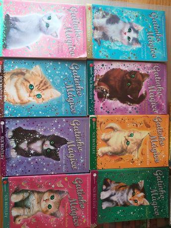 Coleção de livros Os Cinco e O Gatinho Mágico