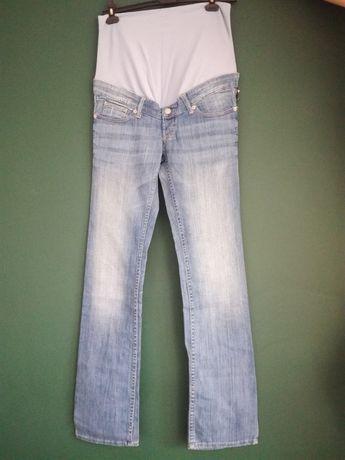 Spodnie ciążowe jeansowe H&M nowe
