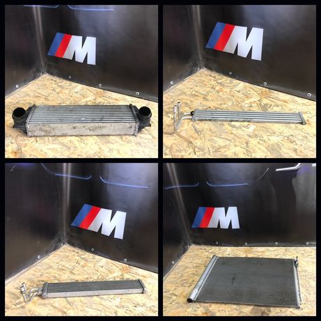 Радиатор интеркуллера, кондиционера, охлаждения масла BMW 535i F10