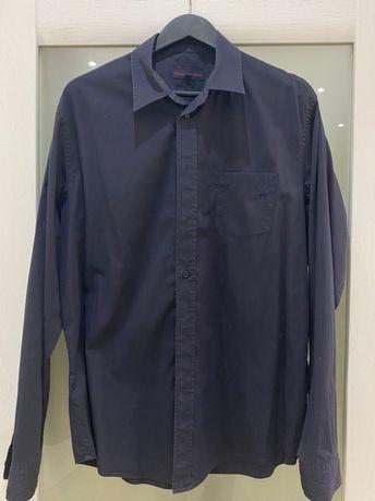 Брендовая рубашка Trussardiразмер (XL)ворот 43,оригинал,в отличном сос