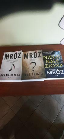 Trzy książki -Mróz Remigiusz