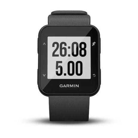 Zegarek biegowy GPS z nadgarstkowym pomiarem tętna. Forerunner 30