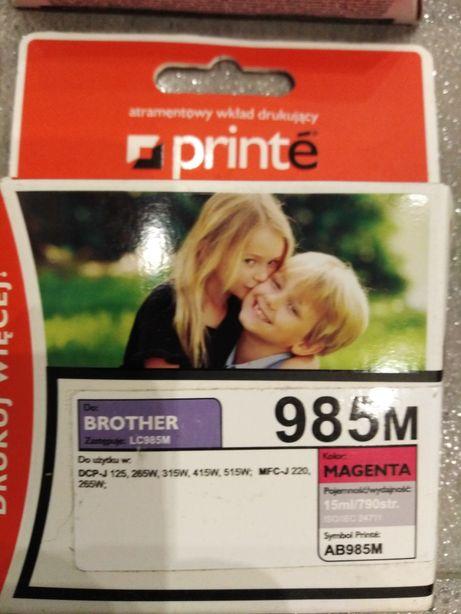 Oddam NOWE kadridże do drukarki atramentowej BROTHER, pełne