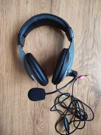 Słuchawki HAMA z mikrofonem