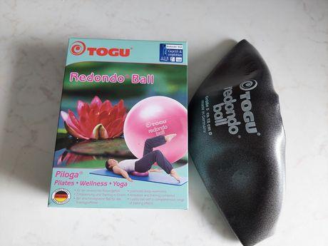Piłka Redondo Togu antracytowa 18cm nowa