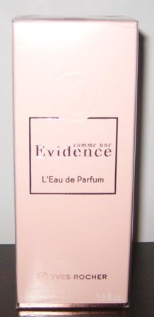 Zestaw: Evidence perfumy 50 ml Ives Rocher + mleczko do ciała 200 ml