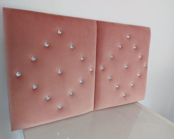 Glamur panele tapicerowane na wymiar
