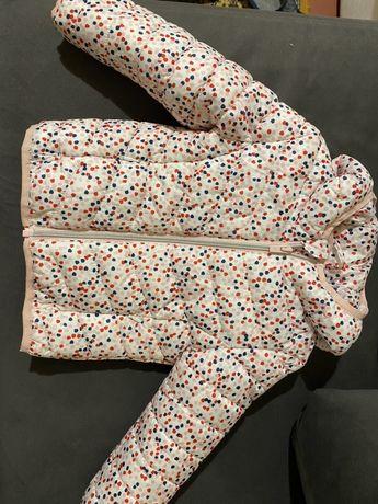 C&A куртка деми для девочки zara