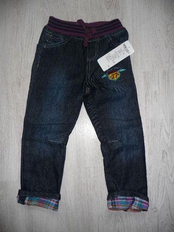 Spodnie jeans'owe, rozm. 92, NOWE