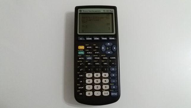Calculadora Gráfica Cientifica Texas Instruments TI-83 Plus