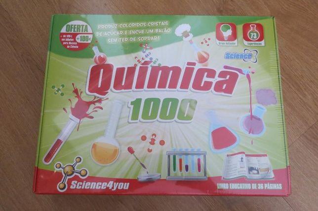 Jogo de experiências - Química 1000 Science4you - novo celofane