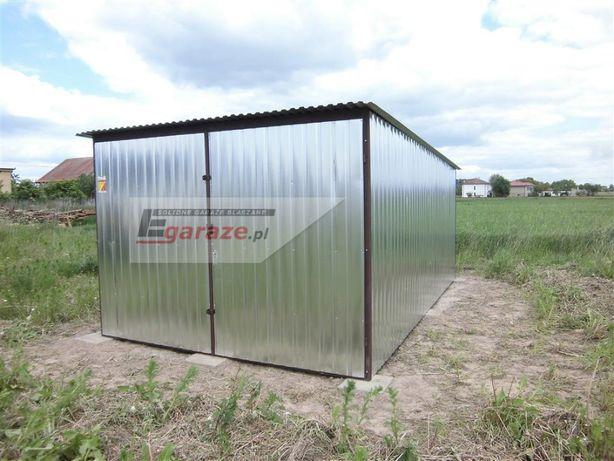 3x6 Schowek budowlany garaż blaszany hale wiaty PRODUCENT każdy wymiar