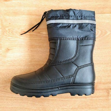 AKЦИЯ! Ботинки зимние +ПOДAPOК/Резиновые сапоги мужские/теплые сапоги