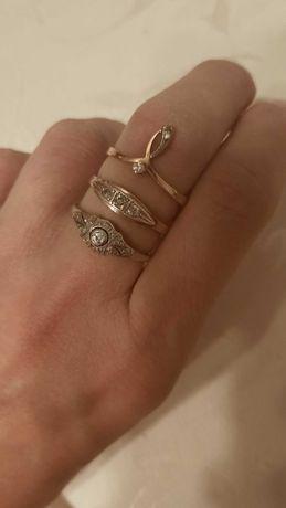Przedwojenne pierścionki art deco
