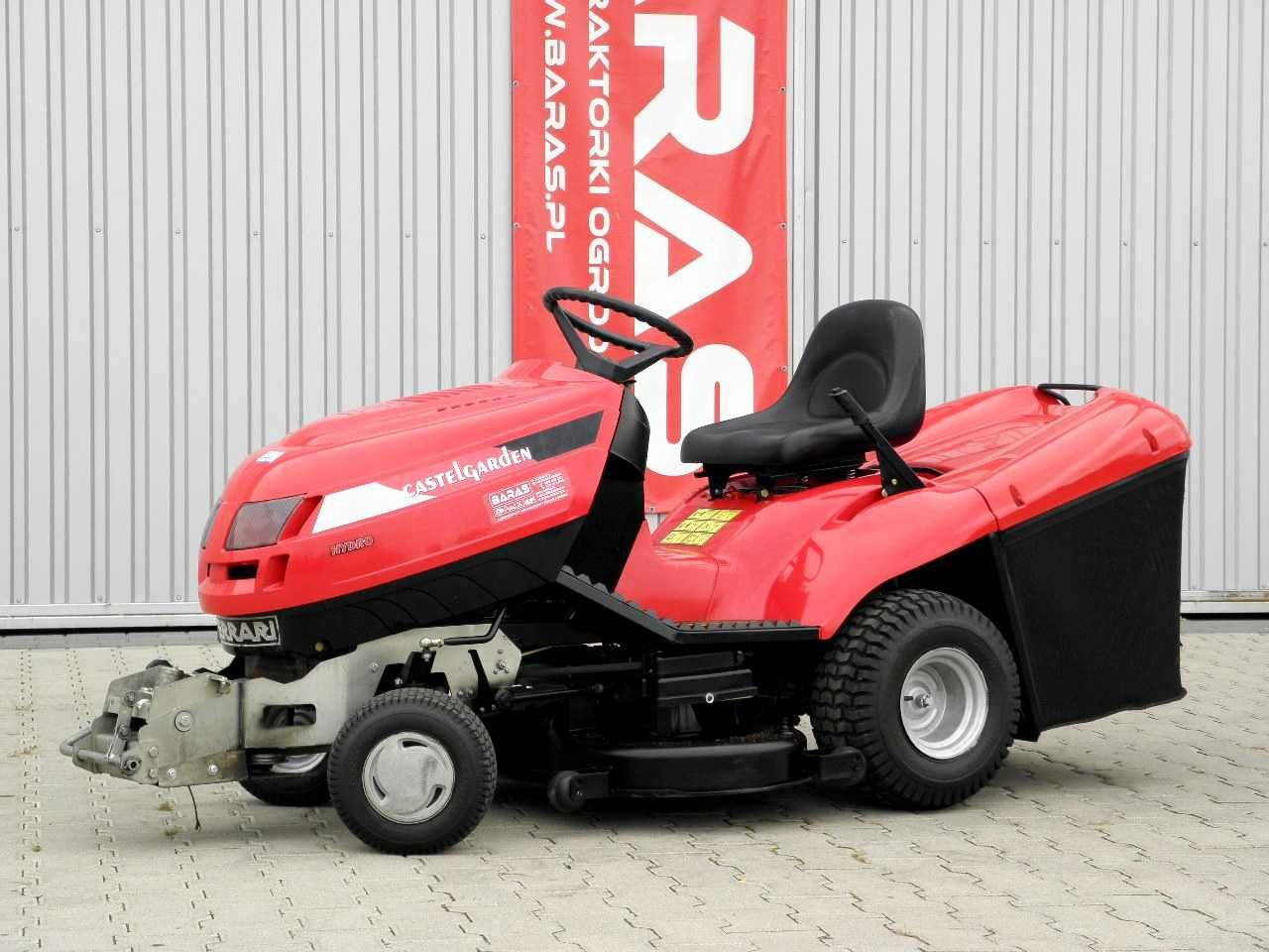 Traktorek kosiarka Castelgarden 22KM (160901) - Baras