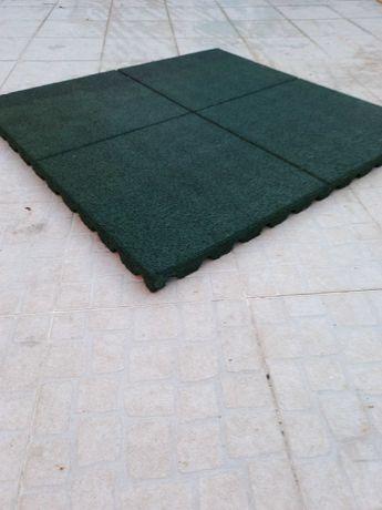 piso borracha 1m2